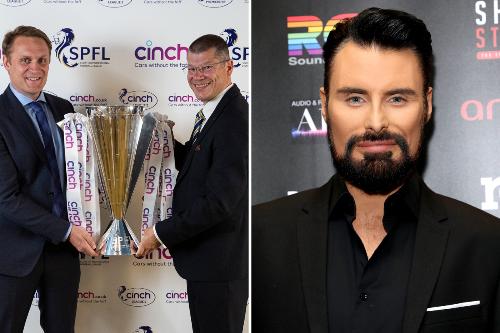 SPFL unveil cinch as new title sponsor as fans joke RYLAN could present trophies