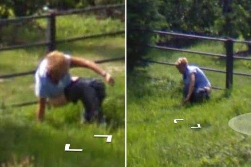 Google Maps watchers spot man doing a poo in a field caught by Street View