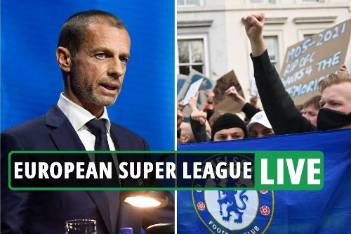 European Super League LIVE: Chelsea and Man City WITHDRAW - explosive latest on Man Utd, Arsenal, Liverpool and Spurs