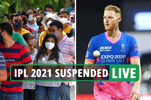 IPL suspended indefinitely after FOURTH team confirm positive Covid-19 cases