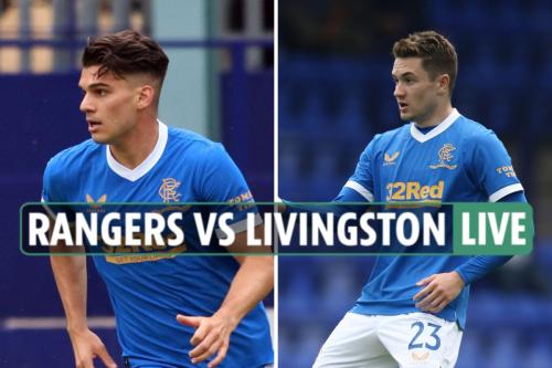 Rangers vs Livingston LIVE REACTION