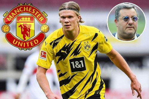 Raiola 'wants to make Haaland first £1m-a-week star as Man Utd step up interest'
