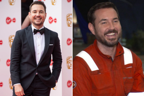 Martin Compston hails The Rig 'one of best jobs he's ever had' as filming wraps
