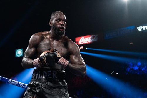 SOURCE SPORTS: Deontay Wilder's Fiancée Says Fury's COVID Case Was An Effort to Buy Time