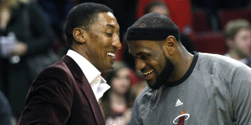 SOURCE SPORTS: Scottie Pippen Believes Kevin Durant Isn't On LeBron James' Level Yet