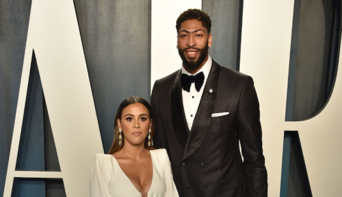 Anthony Davis Gets Married