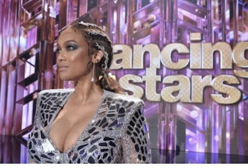 Tyra Banks Channels Saweetie's Baby Hairs on Dancing With The Stars-Fans Are Not Happy