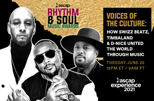 ICYMI: Timbaland, Swizz Beatz and D-Nice Honored with ASCAP Voice of The Culture Award