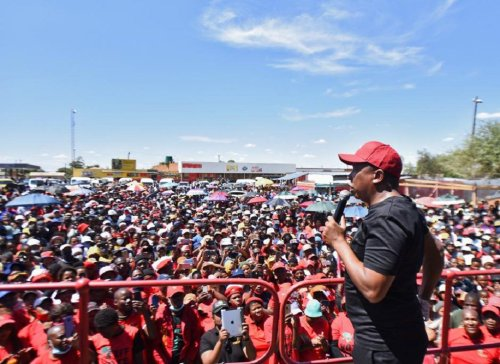 Experts fear 'political instability' for SA – if the EFF gets this many votes…