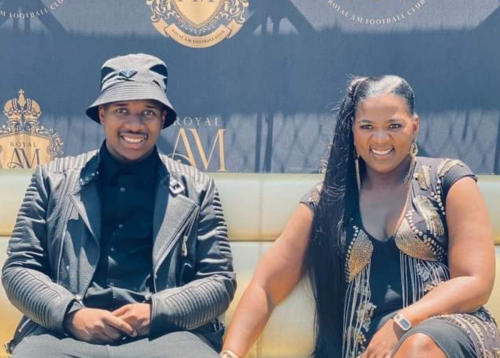 Andile Mpisane shows off R16 000 PINK sneakers - PICTURE!