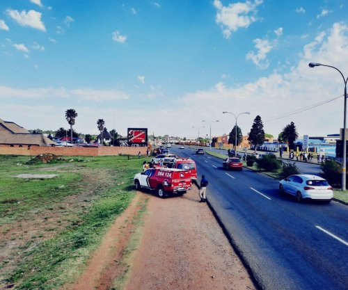 Six-year-old boy and father knocked down by vehicle on R554 in Alberton