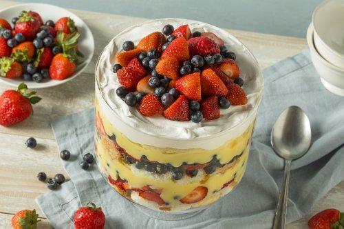 South African Trifle - Fresh, fruity dessert with Amarula Cream Liqueur