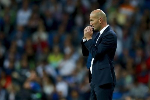 Zidane trends after Man United loss to Villa, will he go to Old Trafford?