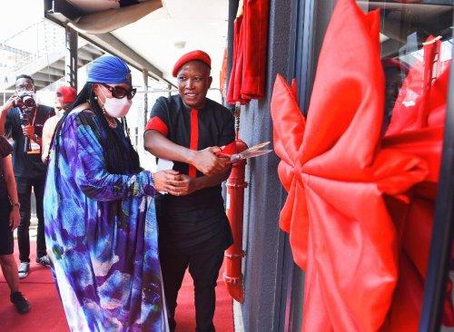 EFF unveils new headquarters named after Winnie Madikizela-Mandela