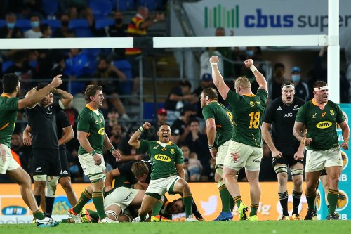 Springboks may be forced into jersey change as World Rugby tackles colour-blind issue