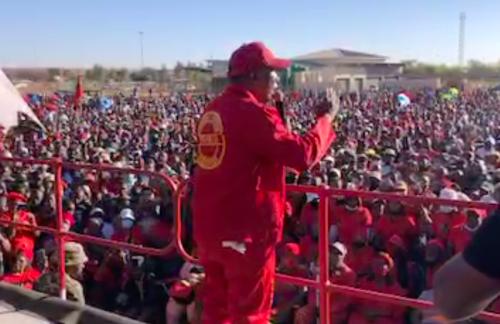DA lambasts EFF election manifesto launch as 'illegal'