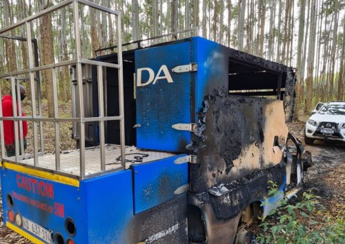 DA members kidnapped in KZN, campaign vehicle torched by armed men