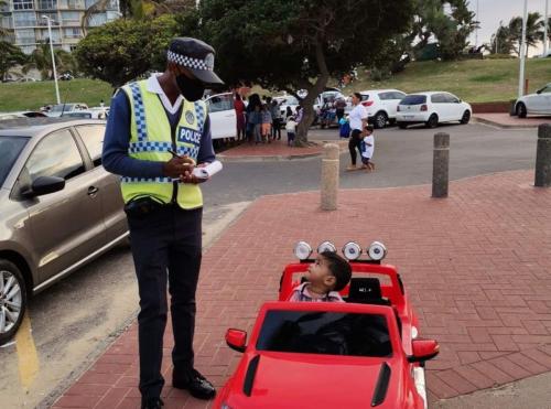 Watch: Durban toddler receives 'play' parking violation ticket [video]