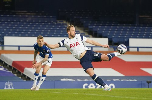 Harry Kane Scores Brace But Spurs Top Four Hopes Are Dented With Draw At Everton