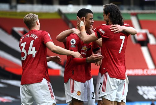 Man United Leave It Late To Beat Burnley As Mason Greenwood Equals Rooney Record
