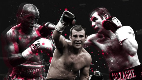 On This Day: When Joe Calzaghe Made Bernard Hopkins Eat His Own Words