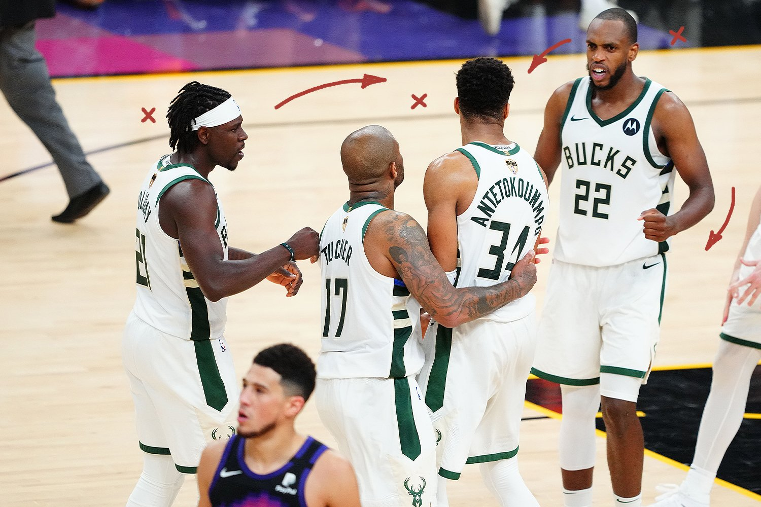Bucks' Big 3 Here to Stay - Sports Section