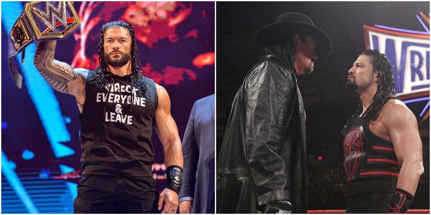 The Undertaker Vs. Tribal Chief Roman Reigns Would Have Been Perfect - cover