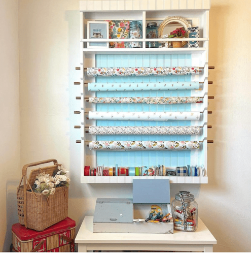These Wrapping Paper Storage Ideas Will Help You Organize Your Gift Wrap at Last
