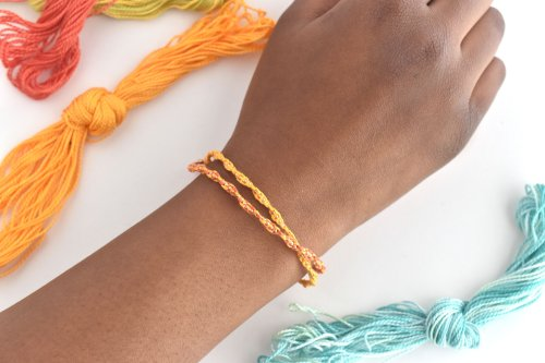 Make a Grown-Up and Easy Friendship Bracelet