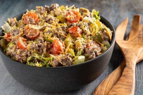 Enjoy All of the Flavors of a Big Mac as a Low-Carb Salad