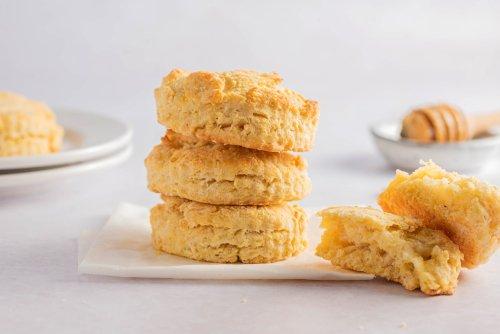 Simple Cornmeal Biscuits Recipe