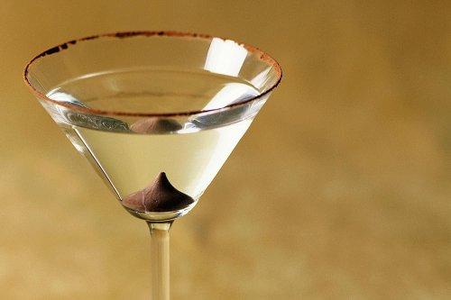 A Fun Chocolate and Orange Martini