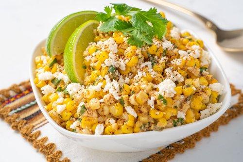Esquites: Mexican Corn Off the Cob
