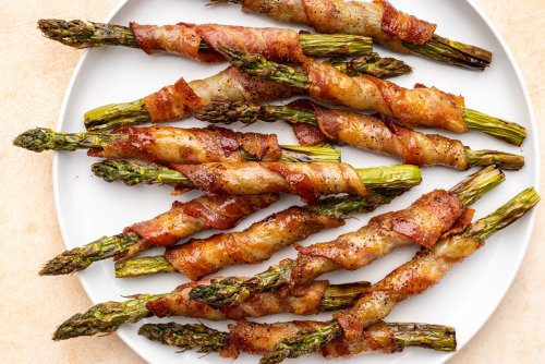 Bacon-Wrapped Asparagus Made Easy in the Air Fryer