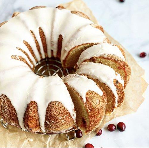 Cranberry Sour Cream Coffee Cake for a Festive Brunch