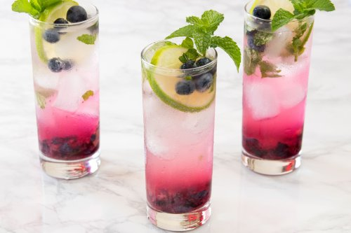 Capture the Taste of Summer With the Beautiful Blueberry Mojito