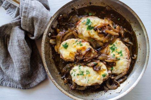 French Onion Pork Chops