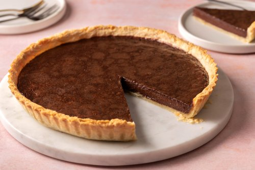 Decadent and Deliciously Rich French Chocolate Tart