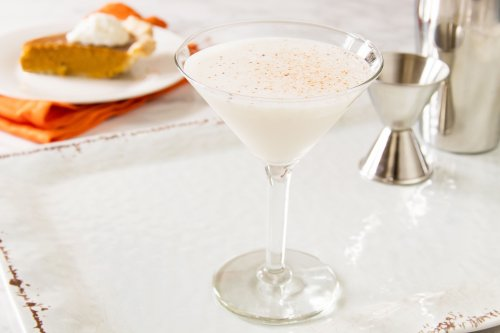 Leap Into Fall With a Creamy Pumpkin Pie Martini