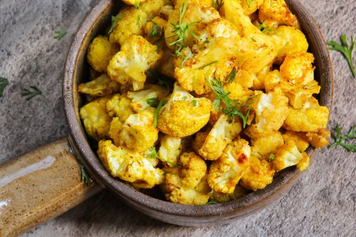 Moroccan Cauliflower with Preserved Lemon and Olives