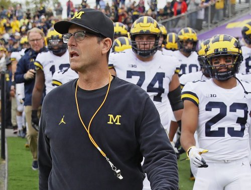 College Football World Reacts To Michigan's Performance Today