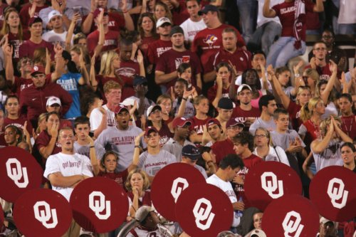 College Football World Stunned By Oklahoma Fan Chant