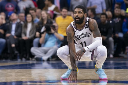 Nets Announce X-Ray Results For Kyrie Irving's Ankle