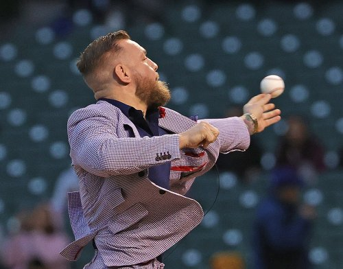 Look: Conor McGregor Just Threw Awful First Pitch