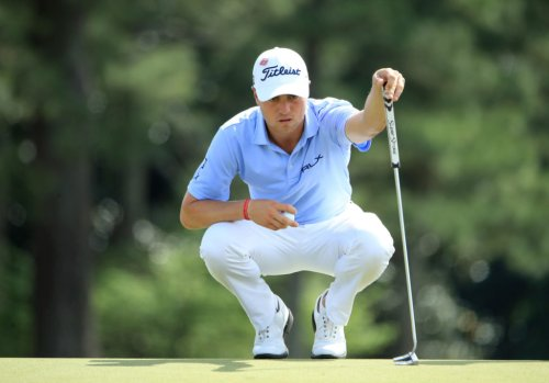 Photo Of Justin Thomas' Shoes For Ryder Cup Are Going Viral