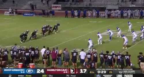 Sports World Reacts To Wild Ending In Bishop Gorman-Hamilton Game