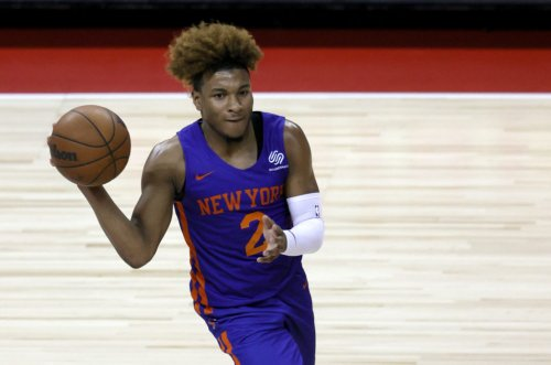 Q&A With Miles McBride: Expectations With Knicks, Playing At MSG