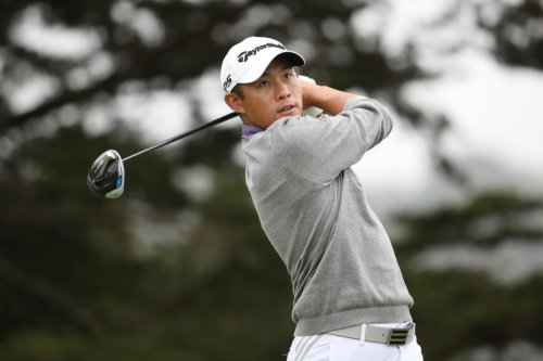 Video: Collin Morikawa Had Scary Chip Near The Water Today