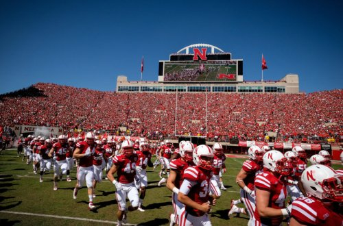 College Football World Reacts To Nebraska President's Hot Mic Comment