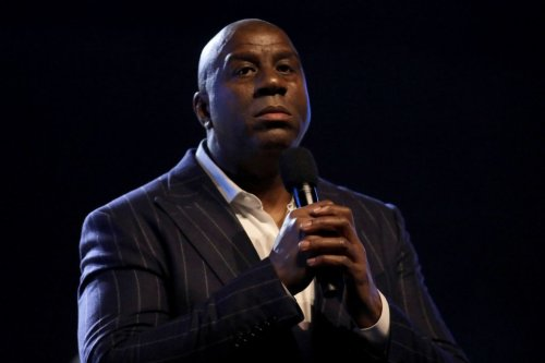 Magic Johnson Reacts To Wild Los Angeles Lakers Incident